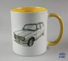 Renault R16, Mug Blanc / Jaune