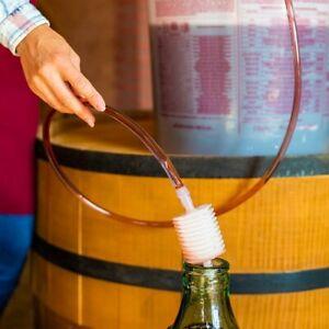 ✅ Weinschlauch Weinheber Abfüllschlauch Umfüller Abfüller Weinballon Wein Bier👍