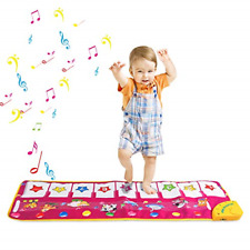 Zmoon Musical Toys, Piano Mat Musical Carpet Baby Activity Gym Play Mats , Baby