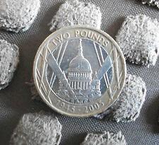 Moneda de 2 £ 50th aniversario del final de la 2nd Guerra Mundial 2005