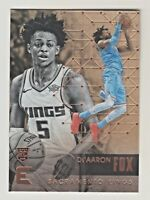 2017-18 Panini Essentials #189 De'AARON FOX RC Rookie QTY AVAILABLE