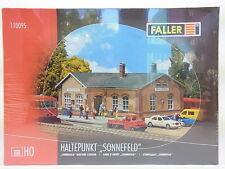 """Lot 11163   Faller ho 110095 punto de interrupción """"sol campo"""" estación kit nuevo embalaje original"""