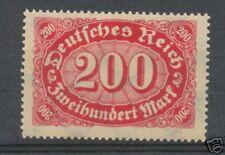 Reich 248c postfris tiefst geprüft Infla Berlin