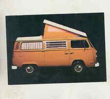 1973 Volkswagen Westfalia Camper Bus Campmobile Factory Postcard mx8902