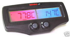 "Koso Dual EGT Gauge w/  Stinger FAST Probes  ""Free Clamp or  Weld-on Hardware!"""