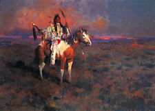 James Reynolds MYSTIC OF THE PLAINS, Native American, art print