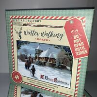 "New Special Delivery Puzzle 1000 Pc Jigsaw Snow Christmas X-mas ""Winter Walking"""
