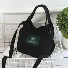 Women Korean Style Canvas Shoulder Bag Messenger Bag Handbag Tote Crossbody Bag