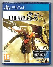 Final Fantasy type - 0 HD - Neuf sous blister jeu Sony Playstation PS4