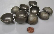 "Hot Rolled Steel Half Sphere / Balls 1.50"" Diameter x .750"" Height, 10 Pieces"