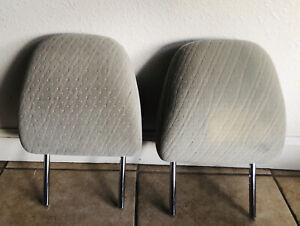 2015-2020 Toyota Sienna  Headrest Cloth Light Beige 2 piece/ Second Row