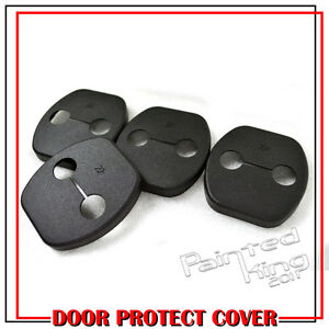 Stock in LA Fit For NISSAN Tiida 5D Side Door Protective Buckle Striker Cover