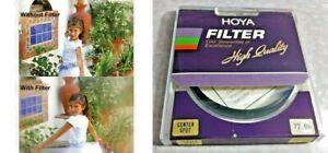 72mm Genuine Hoya Center Spot CS Glass Lens Filter For Film Digital Japan