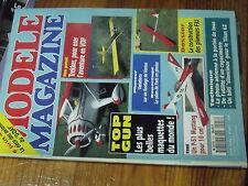 5µ?§ Revue Modele Magazine n°513 Plan encarté Trekker / Eagle 30H  Mustang 60