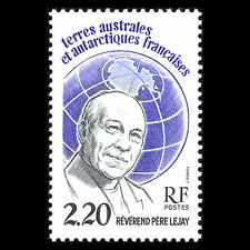 TAAF 1988 - Globe and Father Lejay Famous People - Sc 134 MNH