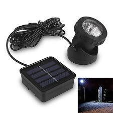 Waterproof 6 Led Underwater Solar Power Spot Light Outdoor Garden Lawn Lamp