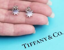 Tiffany & Co Paloma Picasso Sterling Silver Stella Star Stud Earrings