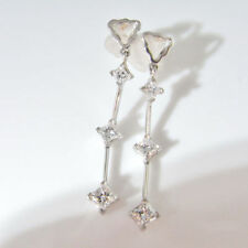 Earrings White Gold 18k Vintage & Antique Jewellery