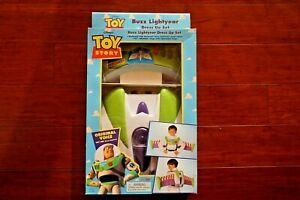 Disney Toy Story Space Ranger Pack Buzz Lightyear Dress Up Set Vintage NEW!
