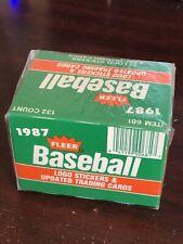 1987 FLEER UPDATE BASEBALL TRADING SET 132 SEALED CARDS GREG MADDUX ROOKIE
