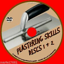 LEARN HOW TO PLASTER TUITION COURSE IDEAL TRAINING FOR DIY & TRADE VIDEO DVD NEW