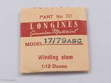Longines Genuine Material Stem Part 32 for Longines Cal. 17/79ABC