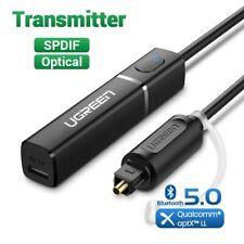 Bluetooth Transmitter 5.0 APTX Optical Audio Music TV Headphone Adapter Audio