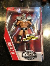 WWE Elite 42 Figure Triple H With helmet and entrance armor new