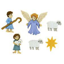Jesse James Buttons ~ Dress It Up ~ THE GOOD SHEPHERD 8816 ~ Christmas Nativity