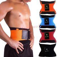 Hot Sauna Slimming Belt Waist Wrap Shaper Burn Fat Calorie Belly Lose Weight