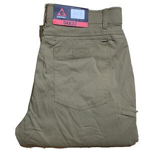 NWT! Gerry Men's Venture Fleece Lined Pants  34X32 KHAKI