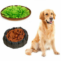 Snuffle Mat Dog Pet Toy Nose Work Washable Training Game Sniffing Puzzle Bowl