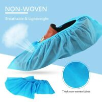 100 pcs Anti-Slip Non-Woven Fabric Disposable Dust-proof Mud-proof Overshoes yz