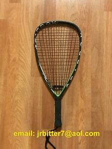 Gearbox GBX1 165T Green Racquetball Racquet (USED)