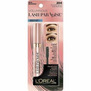LOreal Voluminous Lash Paradise Waterproof Mascara 204 Blackest Black