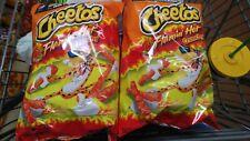 Cheetos Flaming Hot Crunchy 8 1/2 Ounces (2 Bags)