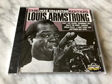 Louis Armstrong The Jazz Collection Edition CD SEALED Lazer Light Blueberry Hill