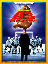 Disney Family Ice Hockey Movie D3 The Mighty Ducks 3 Kids Sports Comedy Blu-ray
