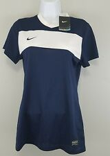 Nike Hertha Womens Jersey Size Small Blue and White Dri-Fit New Short Sleeve