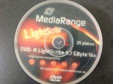 MediaRange Lightscibe Dvd+r 4,7GByte 16x - Case 25Stück