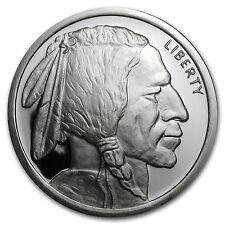 5 oz Silver Buffalo Round - Buffalo Nickel Design - SKU #78586