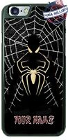 Spider-man Black Suit Web Personalized Phone Case for iPhone X Samsung LG etc