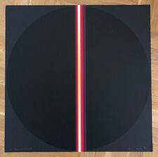 LOTHAR QUINTE, Luna Black serigraph 1971, signed | op art concrete