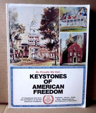 KEYSTONES OF AMERICAN FREEDOM history book Louisiana Purchase art Kay Smith