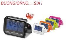 Orologio Sveglia Digitale con Proiezione - Termometro Calendario Trevi PJ3027