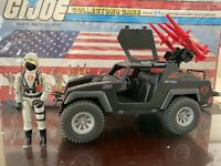 1984 GI Joe Cobra Stinger Vehicle and Driver .  100% ARAH Complete Set Vintage.