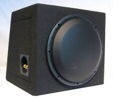 """FOCAL P 25DB EXPERT 10""""/25cm 250W RMS SUBWOOFER SEALED MDF BOX + MESH-GRILE, NEW"""