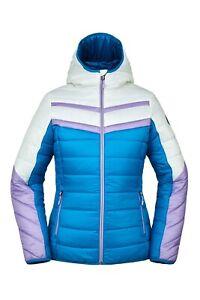 Spyder Ethos Downproof Ski Jacket - Women's - Medium / Lagoon Wish
