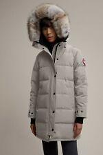 NEW Canada Goose Women's Shelburne Down Parka Coat Limestone Medium