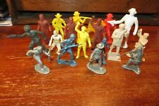 Lot of 18 Vintage Original Timmee, Mpc, Marx Ideal and other plastic soldiers